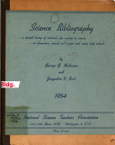 Science Bibliography PDF