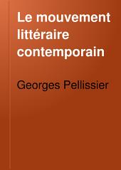 Le mouvement littéraire contemporain