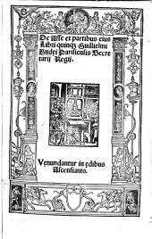 De asse et partibus eius libri quinq[ue] Gulielmi Budęi [...].