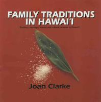 Family Traditions In Hawai i PDF