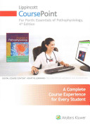 Lippincott Coursepoint for Porth s Essentials of Pathophysiology  Concepts of Altered Health States PDF