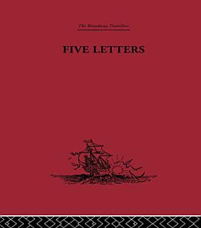 Five Letters 1519 1526 Book