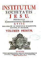 Institutum Societatis Jesu