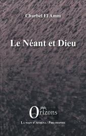 Le Néant et Dieu