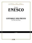 Cantabile and Presto