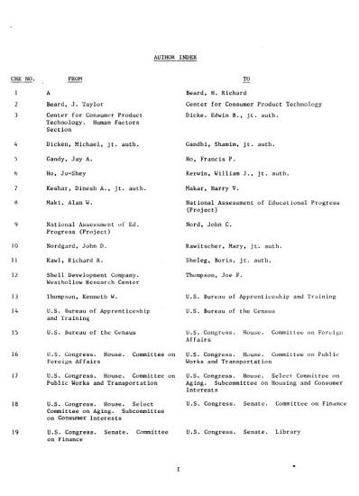 Finding Aid for the Monthly Catalog of United States Government Publications Cumulative Index July 1976 1980 PDF