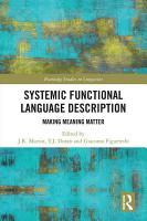 Systemic Functional Language Description PDF
