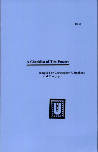 A Checklist Of Tim Powers