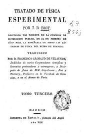 Tratado de física esperimental [sic]: Volumen 3