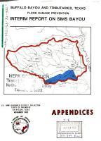 Buffalo Bayou and Tributaries  Sims Bayou Interim Report PDF