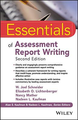 Essentials of Assessment Report Writing PDF