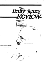 The Henry James Review Book PDF