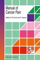 Manual of Cancer Pain PDF