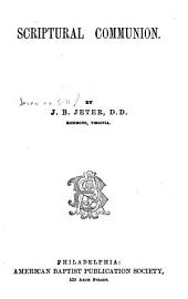 Scriptural Communion