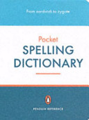 The Penguin Pocket Spelling Dictionary PDF