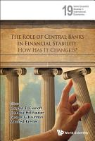 The Role of Central Banks in Financial Stability PDF
