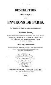 Description géologique des environs de Paris