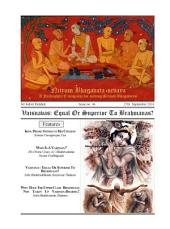 NBS#46: Vaisnavas : Equal Or Superior To Brahmanas?