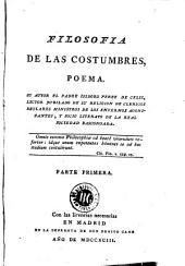 Filosofia de las costumbres: poema