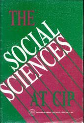 The Social Sciences at CIP PDF