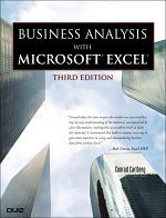 Business Analysis with Microsoft Excel, (Adobe Reader)