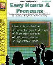 Easy Language Series: Easy Nouns & Pronouns (Gr. 1-2)