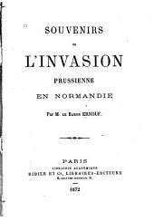 Souvenirs de l'invasion prussienne en Normandie