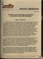 Clinton and the Korea Question PDF