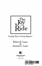 The Joy Ride PDF