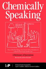 Chemically Speaking PDF