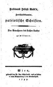 Patriotische Schriften (etc.)