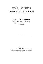 War, Science and Civilization