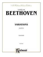 Variations, Volume II: For Piano