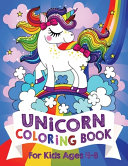Unicorn Coloring Book For Kids Ages 4-8 (US Edition)