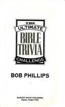 The Ultimate Bible Trivia Challenge PDF