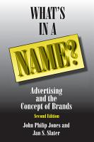 What s in a Name  PDF