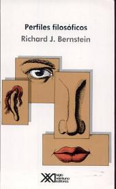 Perfiles filosóficos: ensayos a la manera pragmática