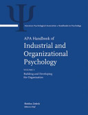 APA Handbook of Industrial and Organizational Psychology PDF
