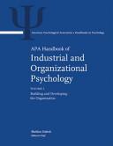 APA Handbook of Industrial and Organizational Psychology