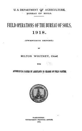 Field Operations of the Bureau of Soils PDF