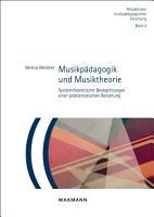 Musikp  dagogik und Musiktheorie PDF