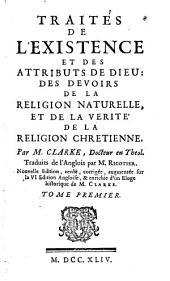 Traités de L'Existence et des Attributs de Dieu