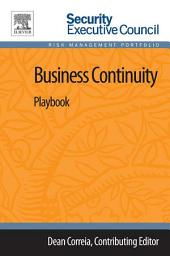 Business Continuity: Playbook, Edition 2