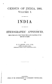 Census of India, 1901: India. 3 pts