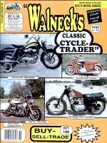 WALNECK'S CLASSIC CYCLE TRADER, OCTOBER 1996