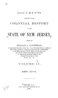 Documents Relating to the Colonial  Revolutionary and Post Revolutionary History of the State of New Jersey PDF