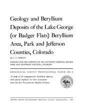 Geological Survey Professional Paper: Volume 608