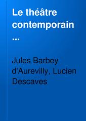 Le théâtre contemporain ...