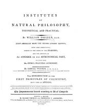 Institutes of Natural Philosophy ... Second edition, etc