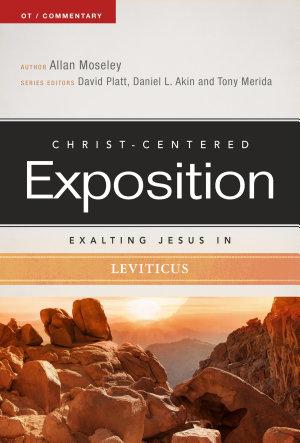 Exalting Jesus in Leviticus PDF